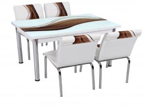 """Трапезна маса + 4 стола """"Antalia I"""""""