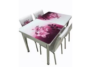 """Трапезна маса + 4 стола """"Bergama II"""""""