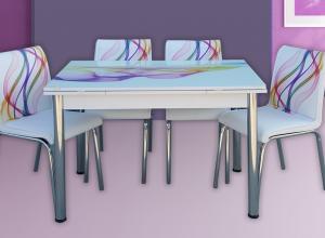 """Трапезна маса + 4 стола """"Nora I"""""""