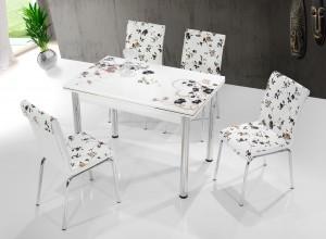 """Трапезна маса + 4 стола """"Tosia I"""""""