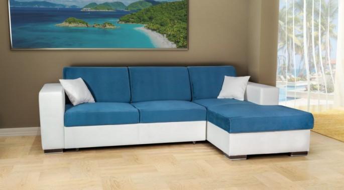 ъглова мека мебел